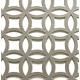 M-D Building Products 57010 1-Feet by 2-Feet .020-Inch Thick Elliptical Aluminum Sheet,Satin Nickel