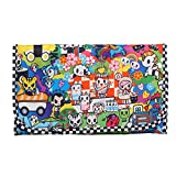 JuJuBe Lightweight Memory Foam Changing Pad, Tokidoki Collection - Sushi Cars