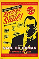 Better call Saul Poster Attorney at Law (61cm x 91,5cm)