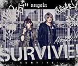 angelaの27thシングル「SURVIVE!」MV。「K SEVEN STORIES」OP曲