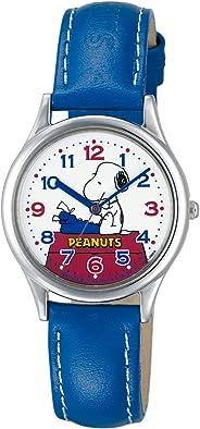 [シチズン キューアンドキュー]CITIZEN Q&Q 腕時計 PEANUTS(ピーナッツ) スヌーピー キャラクターウォッチ アナログ表示 ブルー AA95-9853 レディース