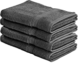 Utopia Towels -コットンハンドタオル(グレー、41 x 71 cm、4パック)