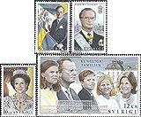 スウェーデン1793–1796( Complete Issue。)1993Royal Family (スタンプfor collectors )