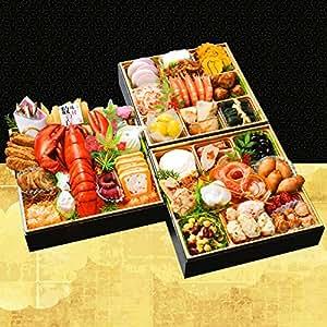 小樽きたいち 海鮮おせち 秀峰 特大8寸三段重 全37品 (12月28日(金)着)