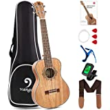 Vangoa Tenor Ukulele 26 Inch Mahogany Hawaii Guitar Uke Bundle for Kids Beginners Adults