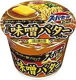 エースコック スーパーカップ1.5倍 味噌バター味ラーメン 超やみつきバター状ブロック仕上げ 107g ×12個
