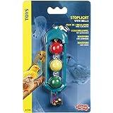 Living World Stoplight with Bells Bird Toy