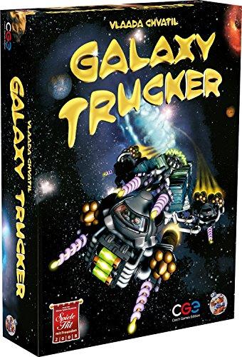 ギャラクシートラッカー (Galaxy Trucker) ドイツ語版 日本語ルール・シール付属 ボードゲーム