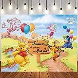 Winnie Backdrop   Baby Shower   Winnie The Pooh Background   Newborn   Party Supplies   Birthday Banner