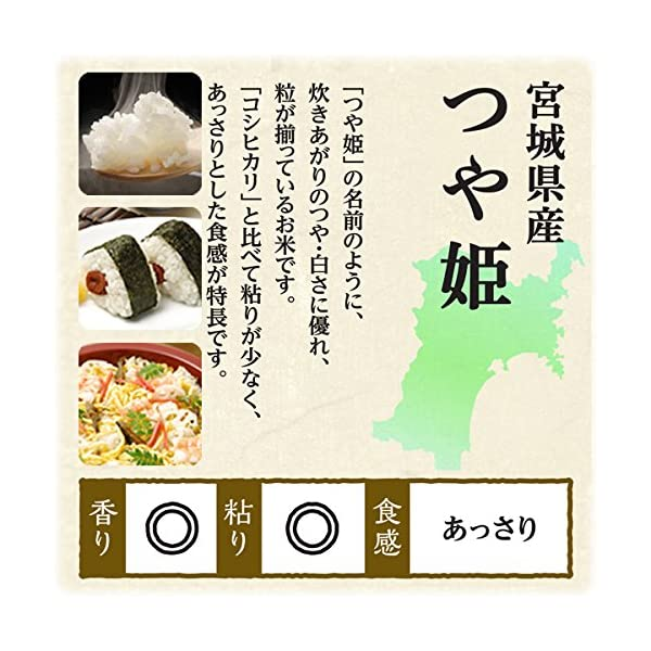 【精米】低温製法米 宮城県産つや姫の紹介画像6