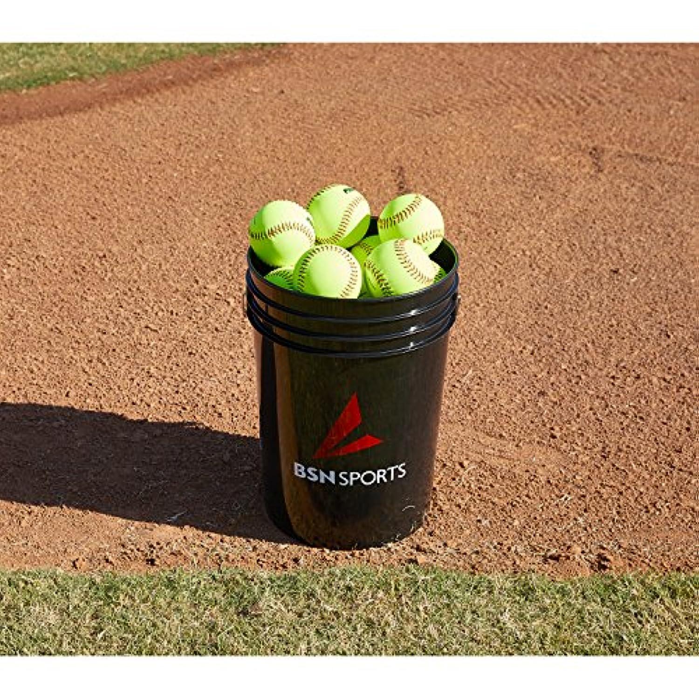 BSN スポーツバケット 2ダースの11インチ ソフトボール (EA)