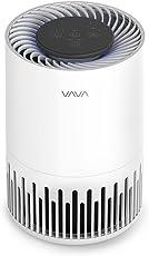 VAVA 空気清浄機 小型 静音 3-in-1 脱臭 花粉 ホコリ除去 PM2.5対策 ナイトライト付 スリープモード有り 送風速度調節可 True HEPAフィルター VA-EE014