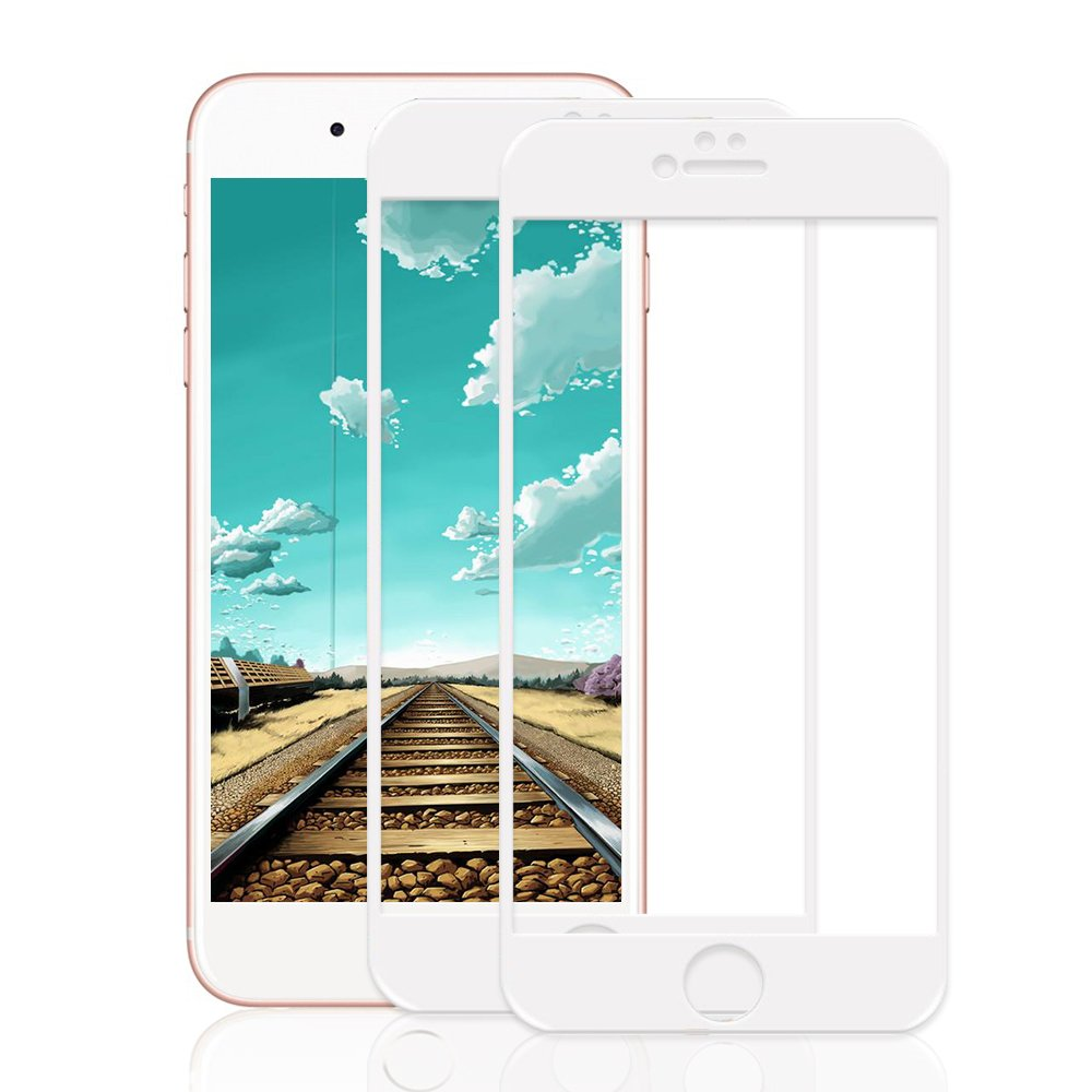 e8d58e097f nonzers [Set of 2] iPhone Glass Film iPhone Screen Protector Film 3d Touch  High Transmittance LCD Protective Film Hardness 9H, Anti-Fingerprint Proof  ...