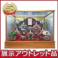 雛人形 コンパクト ケース飾り 【アウトレット特価】2019out-hina3