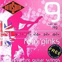 ROTOSOUND ROT-R9 Roto Pinks Super Light エレキギター弦×3SET