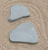 伊予青石(自然石) 2石組 「庭石・飛石・踏石・拝石」