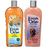 Fresh 'N Clean Classic Shampoo & Creme Rinse Bundle: (1) Fresh 'N Clean Classic Fresh Scented Shampoo, and (1) Fresh 'N Clean