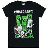 Official Minecraft Adventure Logo Boy's T-Shirt