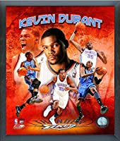 Kevin Durant Oklahoma City Thunder 2011 NBA合成写真(サイズ: 12 cm x 15 cm )フレーム