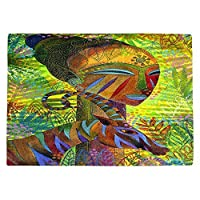 DIANOCHEキッチンPlaceマットby Jennifer Baird – African Queens Set of 4 Placemats PM-JenniferBairdAfricanQueens2