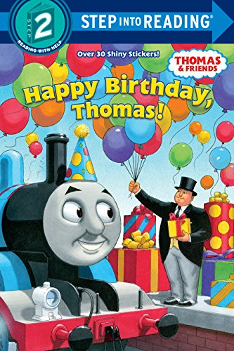 Happy Birthday, Thomas!: Based on the Railway  Series (Step Into Reading/Step 2 Book)の詳細を見る