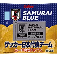 カルビー サッカー日本代表ポテトチップス2018 22g×24袋