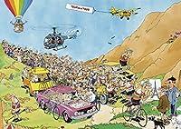 Jan Van Haasteren - Tour De France 3 x 1000 Piece Jigsaw Puzzles