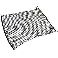 ラクティス NCP ラゲッジネット カーゴネット ラゲッジ トランク ラゲージ ネット 車内 内装 アクセサリー 荷室 荷物 固定 汎用 伸縮ネット 荷崩れ防止 100cm×100cm