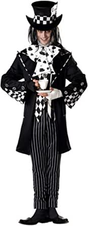 Dark Mad Hatter Adult Costume ダークマッドハッター大人用コスチューム♪ハロウィン♪サイズ:Large