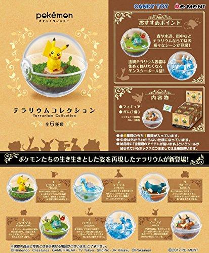 ポケモンテラリウムコレクション 6個入 食玩・ガム (ポケモン)