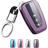 Mofei for Toyota Key Fob Cover - Soft TPU Key Fob Case Protective Sleeve Protector Protecting Shell Keyless Remote Control Sm
