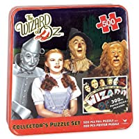The Wizard of Oz Collector's Puzzle (Set of 2) Collectible Tin Box [並行輸入品]