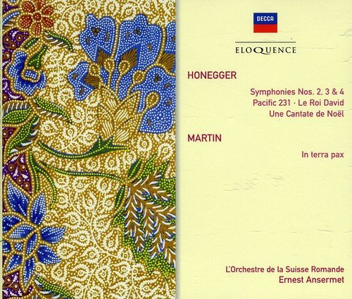 Honegger: Symph 2-4 Choral Works Martin: in Terr