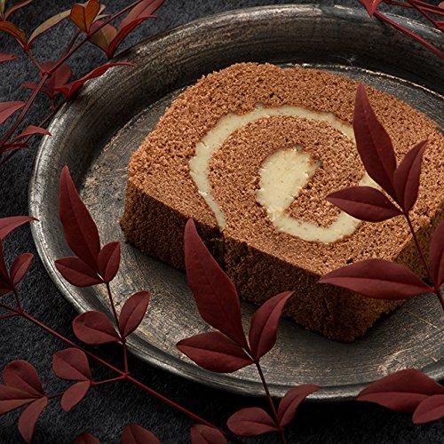 栗ロールケーキ