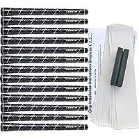 Lamkin Wrap-Tech White Trim Standard Golf Grip Kit (13 Grips, Tape, Clamp)