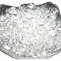 【hinryo】100g 高品質 天然 AAAAA 浄化 さざれ 天然石 パワーストーン (水晶 クリスタル さざれA 小粒(5mm~10mm))