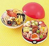 (12月30日着)「ポケモンおせち」モンスターボール型 二段重 24品