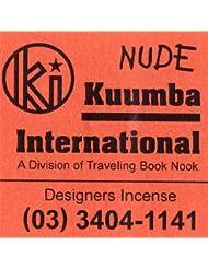 KUUMBA / クンバ『incense』(NUDE) (Regular size)