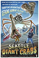 Seattle vs. The Giant Crabs 24 x 36 Signed Art Print LANT-41619-710