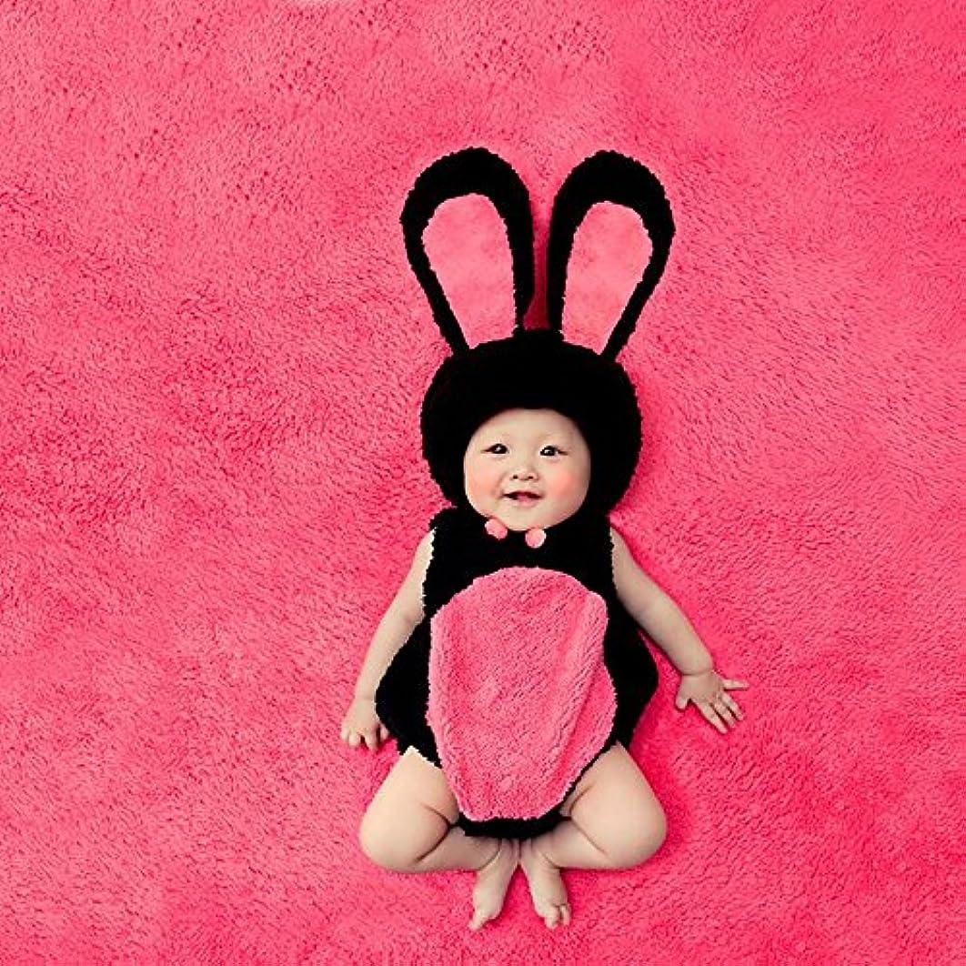 J-LAVIE ベビー 着ぐるみ うさぎ かわいい もこもこ 柔らか 寝相アート 出産祝い 記念写真