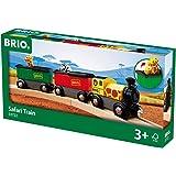 BRIO 33722 Safari Train, 3 Pieces