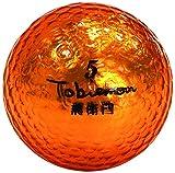 公認球 高反発ソフトコア 2ピース構造キラキラメタルボール 12球 1ダース オレンジゴールド FLYGADR-OGD4