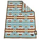 ペンドルトン PENDLETON Muchacho baby blanket ZD632 ウール ブランケット ひざ掛けやアウトドアにも最適なムチャチョ ベイビー ブランケット 【並行輸入】 (AQUA/51128)