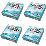 STICKY BUMPS 4個セット スティッキーバンプス サーフワックス/サーフボードワックス サーフボード滑り止め BASE COAT(下塗り用 )SURF WAX