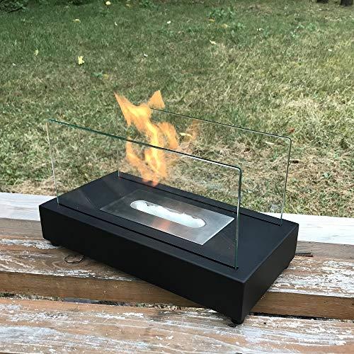 ガレージ・ゼロ バイオエタノール暖炉 屋内/屋外両用 GZIT01 長方形 ブラック