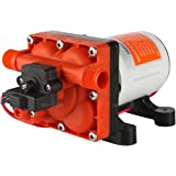Seaflo 12V 3.0 GPM 55 PSI Water Pressure Diaphragm Pump with Internal Bypass Valve to Reduce Cycling