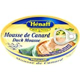 "HENAFF (エナフ) 2種類の レバームース ""デュオ"" 115g 缶 【フランス産 パテ】"