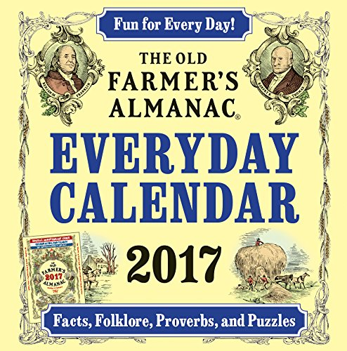The Old Farmer's Almanac Everyday 2017 Calendar