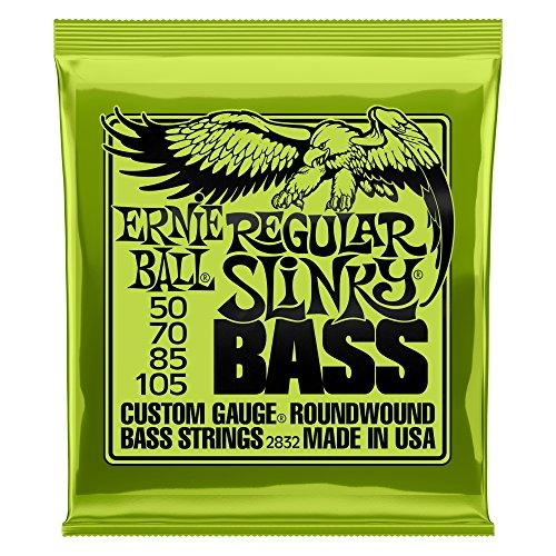 【正規品】 ERNIE BALL ベース弦 レギュラー (50-105) 2832 Regular Slinky Bass