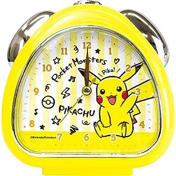 ティーズファクトリー 置き時計 ピカチュウ H13.5×W13×D5cm ポケモン おむすびクロック PM-5520142PC